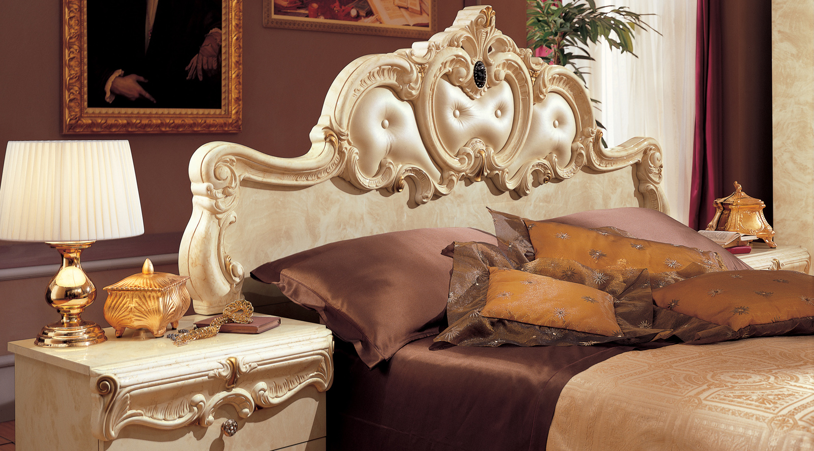 Barocco Ivory Camelgroup Italy Classic Bedrooms Bedroom