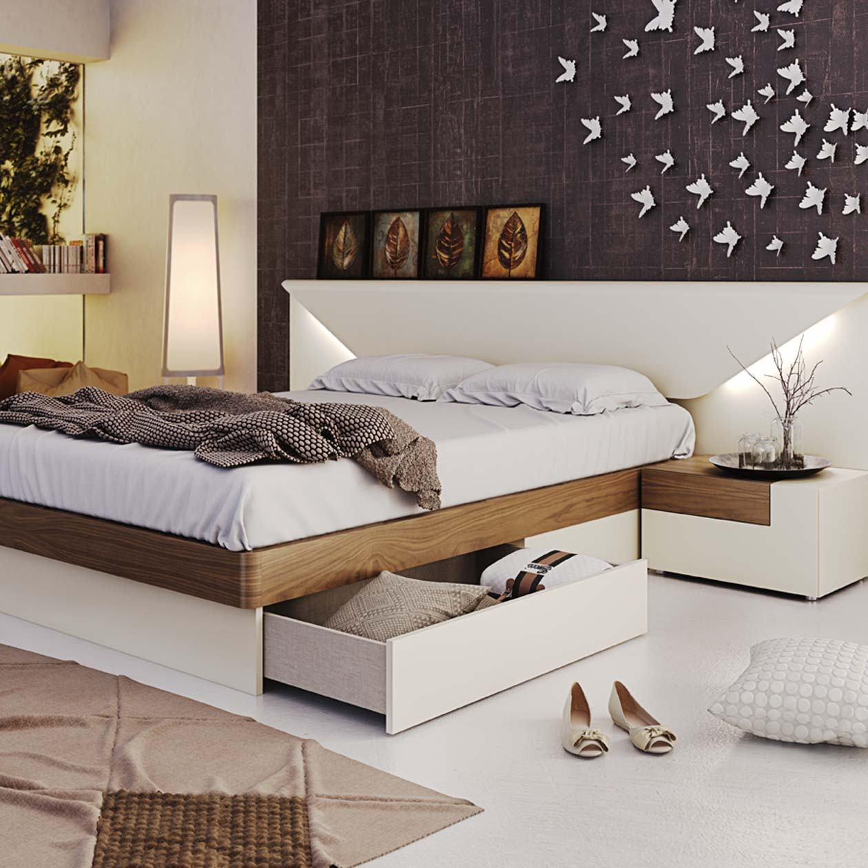 . Elena Bedroom  Modern Bedrooms  Bedroom Furniture