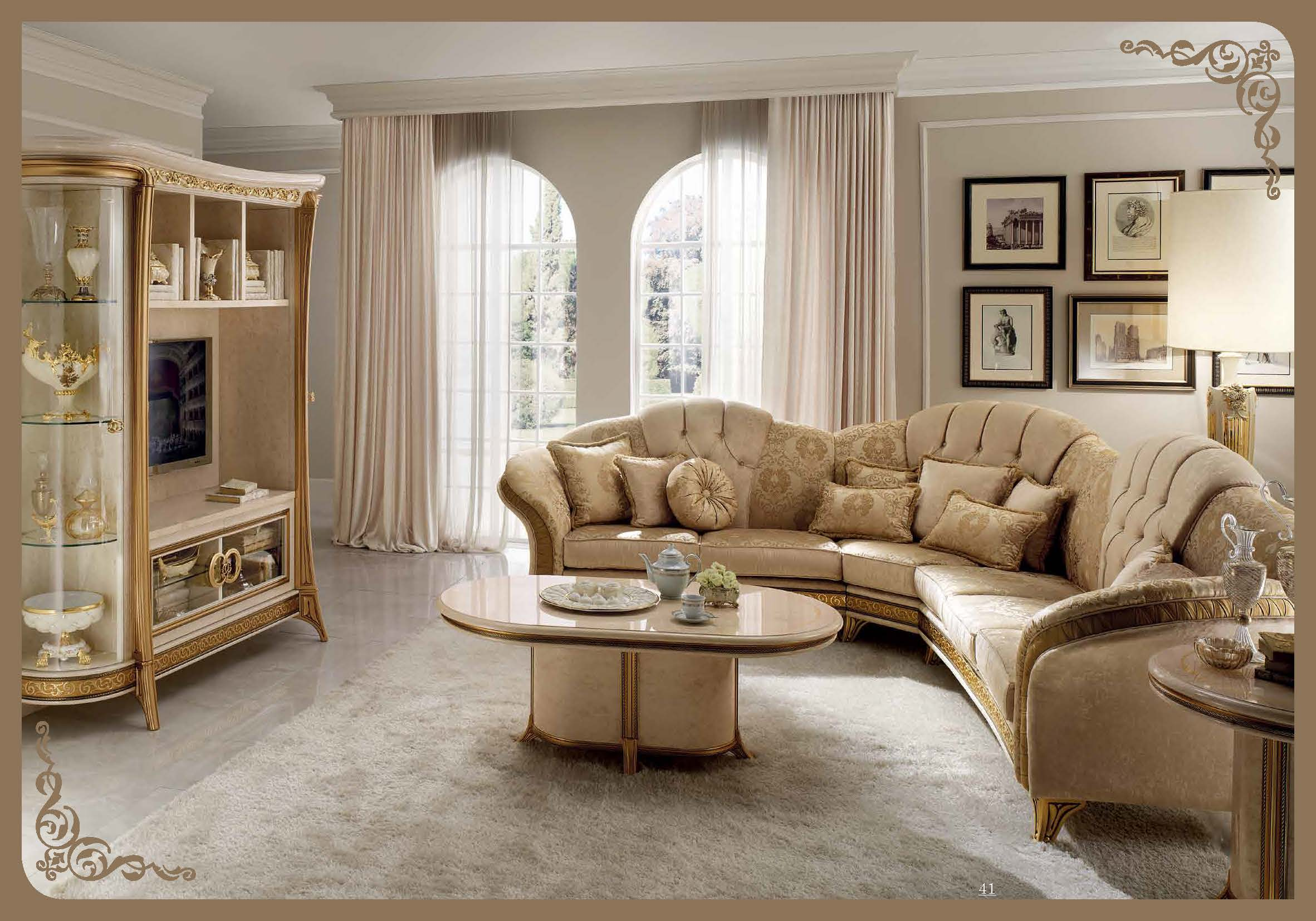 melodia lounge arredoclassic living room italy collections