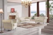 Living Room Furniture Leather Classic 3 pcs  Sets